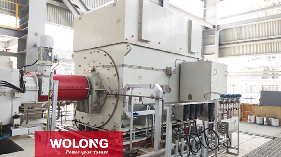 Wolong provided the largest power motor for Zhejiang Petrochemical